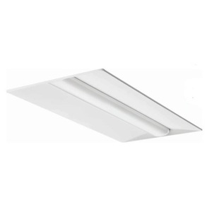 Lithonia Lighting 2BLT440LADPLP840 LED Recessed Troffer, 2 x 4, 4000 Lumens, 4000K, 120-277V