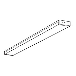 Lithonia Lighting DBWX48 Metal Diffuser, 2' x 4'