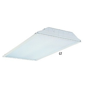 Lithonia Lighting GT4L41MV Lensed Troffer, 2 x 4', 4-Lamp, T8, 32W, 120-277V