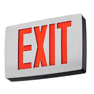 Lithonia Lighting LQC1RELN Die-Cast Aluminum Exit Sign