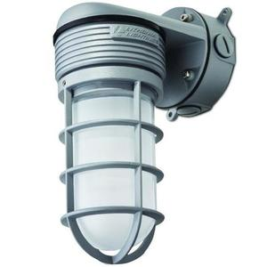 Lithonia Lighting OLVTWMM6 LED Wall Mount Utility Light, 15W Vaportight LED Wall Mount