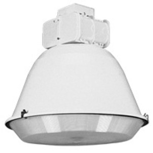Lithonia Lighting TX400MPA23TBSCWA-W/LAMP Low Bay Fixture, Protected Metal Halide, 400W, 120-277V