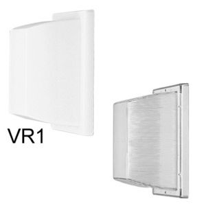 Lithonia Lighting VR2 Vandal Resistant Fixture, Incandescent, 100W