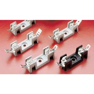 Littelfuse 354812-GY Fuse Block, 3AG/3AB Fuses, 20A, 300V AC/DC, Gray, 12P