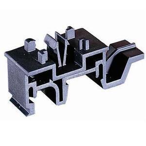 Littelfuse FBDIN1 DIN Rail Adapter, for 30A, Class CC, Midget, G, Fuse Blocks, Snap On
