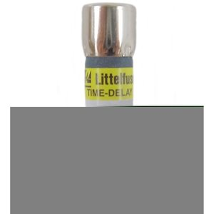 Littelfuse FLQ1.25 1.25A, 500V, Slo-Blow Midget Fuse