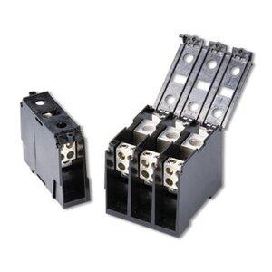 Littelfuse LCH132-3 Power Distribution Block Cover, Plastic, Black