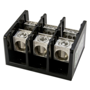 Littelfuse LFD3553-3 400 MCM to 14 AWG, 3-Pole, Connector Block