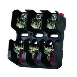 Littelfuse LFJ60030-3CID Fuse Block, 30A, 600VAC, Class J, 3P, With Indication, Box Lug