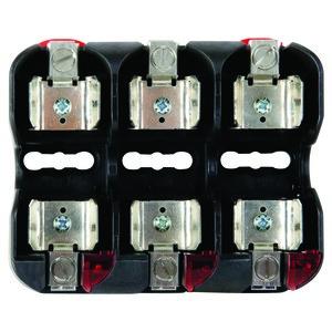 Littelfuse LFJ60060-3CID Fuse Block, 60A, 600VAC, Class J, 3P, With Indication, Box Lug