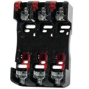 Littelfuse LFR60100-3CID Fuse Block, 100A, 3P, 600VAC, Class R