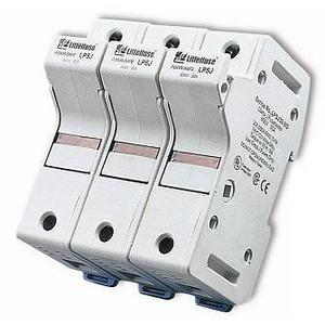 Littelfuse LPSJ30-3ID 30A, 3P, 600V, Class J Dead Front Fuse Holder