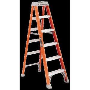Louisville Ladders FS1510 Fiberglass Stepladder, 10', 300 lbs
