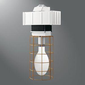 Lumark MPCW40-OR Temporary Light, Pulse Start Metal Halide, 400W, 120-277V