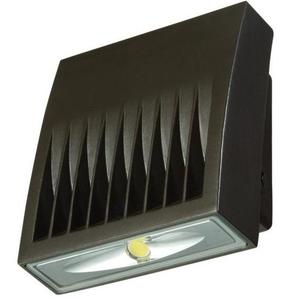 Lumark XTOR1B Wallpack, LED, 12W, 5000K, Carbon Bronze