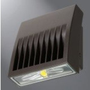 Lumark XTOR3B LED Wallpack, 26W, 5000K, 120-277V, Bronze