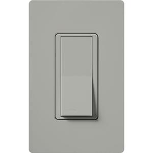 Lutron CA-1PS-GR General Purpose Switch, Claro, Gray