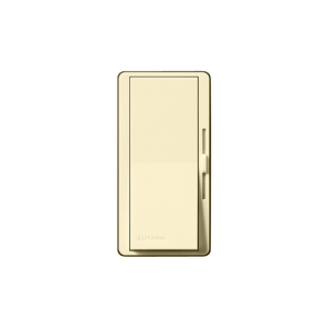 Lutron DV-603PGH-IV Slide Dimmer, Decora, 600W, 3-Way, Eco-Dim, Diva