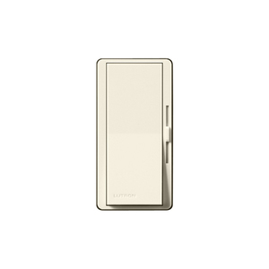 Lutron DV-603PGH-LA Slide Dimmer, Decora, 600W, 3-Way, Eco-Dim, Diva