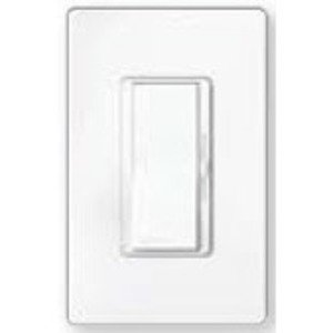 Lutron DVELV-303P-LA Decora Dimmer, 300W, Electronic, Diva, Light Almond