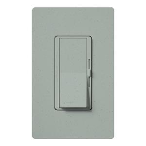 Lutron DVSC-603P-BG Slide Dimmer, 600W, Preset, Bluestone