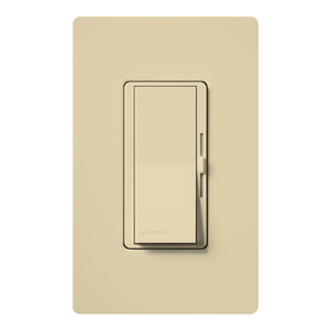 Lutron DVW-603PH-IV Diva Duo Dimmer, 600W, 3-Way, Ivory