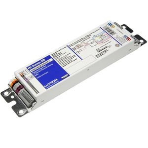 Lutron H3DT540GU210 Dimming Ballast, Compact Fluorescent, 2-Lamp, 40W, 120-277V