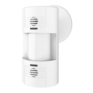 Lutron LOS-WDT-WH Dual technology wall or ceiling mount wired sensor; 110 degrees field of view covering 1600 sq. feet