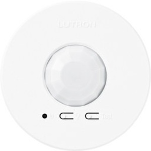 Lutron LRF2-OCR2B-P-WH 360° Wireless Occupancy Sensor, Ceiling Mount