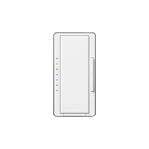 Lutron MA-600H-WH Digital Fade Dimmer, Decora, 600W, Maestro, White