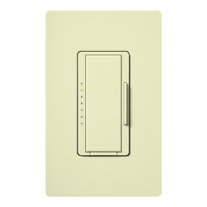 Lutron MA-FQ4FM-AL Fan Control, Decora, 7-Speed, 1-Pole, 4A, 120V, Almond