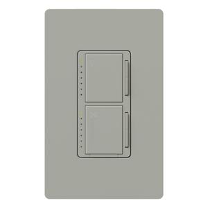 Lutron MA-LFQM-GR Fan/Light Control, Gray