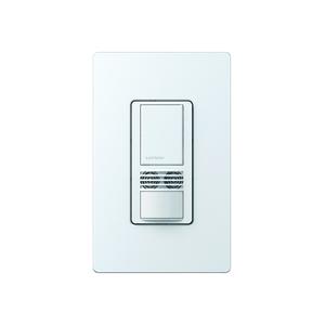 Lutron MS-B102-WH Single-Circuit Occupancy Sensor Switch, White