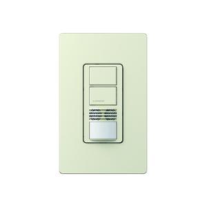 Lutron MS-B202-LA Dual-Circuit Sensor Switch, Light Almond