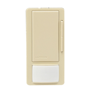 Lutron MS-Z101-IV OCC/VAC Sensor Switch Dimmer, 8A, Maestro, Ivory