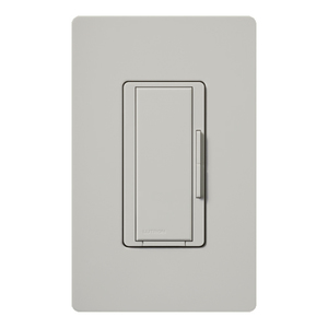Lutron MSC-AD-PD Digital Dimmer, Remote Control, Palladium