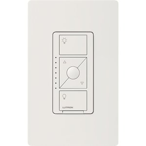 Lutron PD-5NE-WH Dimmer Switch, Wireless, White