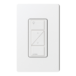 Lutron PX-2BRL-GWH-I01 2-Button Wired Control with Raise/Lower