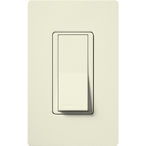 Lutron SC-3PSNL-BI Claro Switch, 120VAC/3-Way, Biscuit