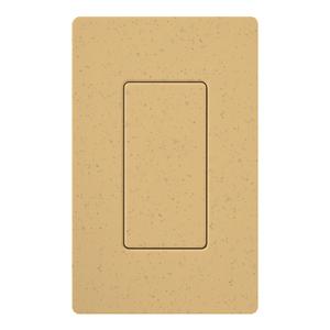 Lutron SC-BI-GS Blank Decora Insert, Goldstone
