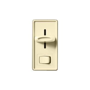 Lutron SFSQ-LF-IV Fan/Light Control, Slide, 3-Speed, Ivory
