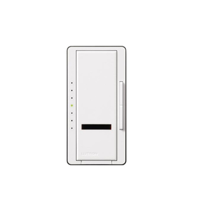 Lutron SPS-1000-WH Slide Dimmer, 1000W, IR Receiver, White