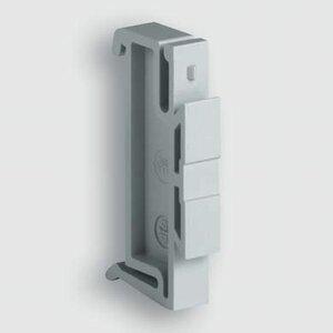 Lutze 700499 Mounting Adaptor, Type 2 Socket, Gray, #700499