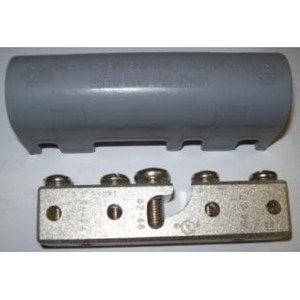 M & W Electric IBB-5 Intersystem Bonding Bridge, (4) 4 AWG Conductors, 6 - 2 AWG Grounding Electrode