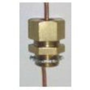 """M & W Electric KC1AST Kenny Clamp, 1/2"""", 1/0 AWG Stranded"""
