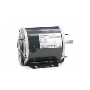 Marathon Motors P250-GX Motor, General Purpose, 1/4HP, 115/230VAC, 1625RPM, TENV, 48Z Frame
