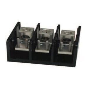 Marathon Special Products 1443569 Power Terminal Block, 3 Pole, 380A, 600V AC/DC
