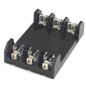 Marathon Special Products R6F30A3B Fuse Block, 30A, 600V AC/DC, Class H, 3P, Box Connector