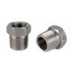 "Matco-Norca FTBU0301 Hex Bushing, Threaded, 1/2 x 1/4"", Steel"