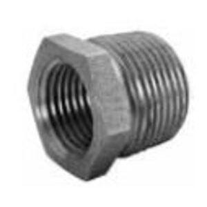 "Matco-Norca MBUB0300 Hex Bushing, 1/2 x 1/8"", Black, Steel"